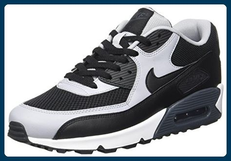 free delivery new appearance cheapest price Nike Schuhe Air Max 90 Essential Herren black-black-wolf ...