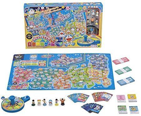 Amazon どこでもドラえもん日本旅行ゲーム5 すごろく おもちゃ