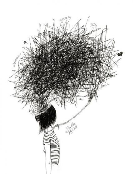 45+ Best ideas for drawing sad girl sketches art #drawing