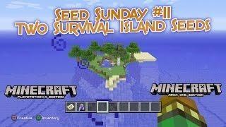 Minecraft - Best TU38 Survival Island Seeds! (Minecraft PS4, Xbox