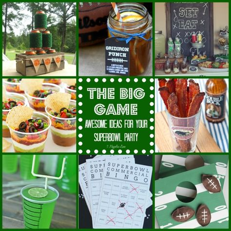 The big game: awesome ideas for your Superbowl party | 11 Magnolia Lane