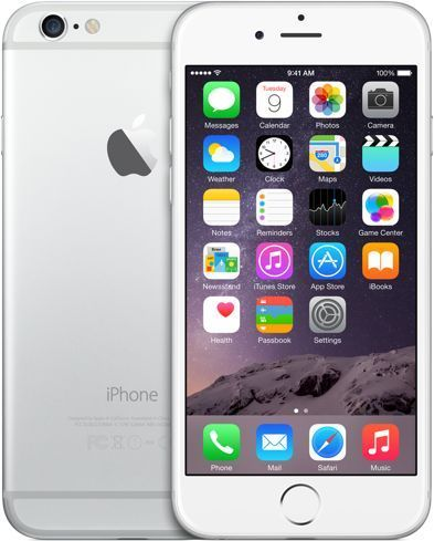 Iphone 6 16gb Silver Apple Iphone 6 Iphone Apple Iphone