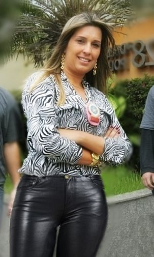 Leather+Brazil+police+woman+cop+lady.jpg (303×505) thick amateur leather pants