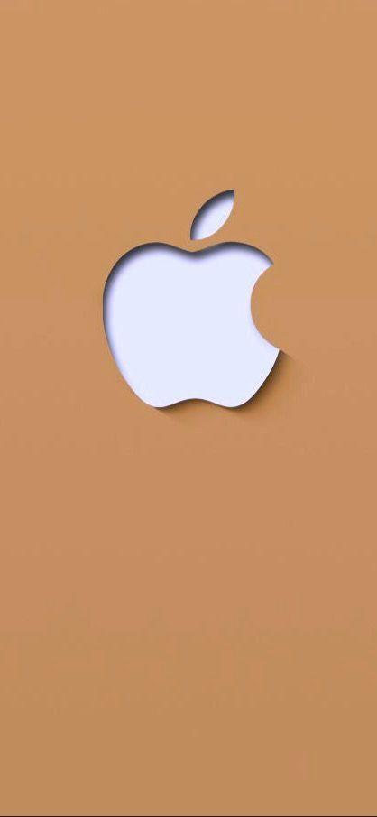 Apple Lockscreen Caramel Ios13wallpaper Ios13 Iphonewallpaper Apple Logo Colorful Lock Apple Logo Wallpaper Apple Iphone Wallpaper Hd Apple Logo Design