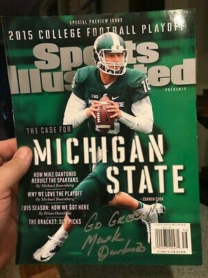 Pin By Donald Hillman On Michigan State Football In 2020 Michigan State Football Sports Illustrated Mark Dantonio