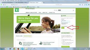 Tdautofinance Online Bill Payment Financial Planning Financial