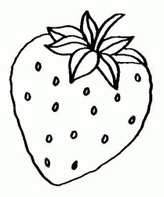 Frutas Y Verduras Para Colorear Con Imagenes Dibujos De Frutas