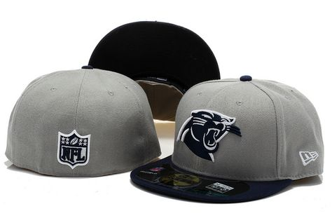 buy popular d66a8 4efe7 New Era NFL Topp d Up Denim 59FIFTY Cap And Hats Carolina Panthers Fitted  Hats