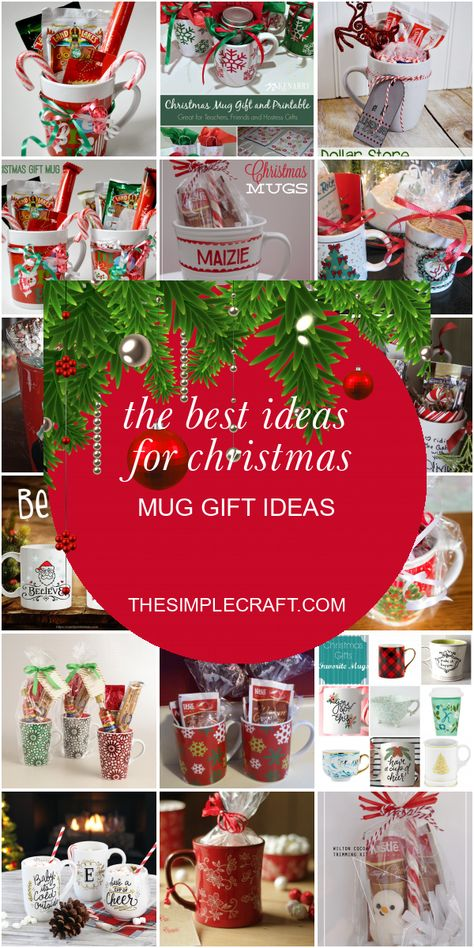 The Best Ideas for Christmas Mug Gift Ideas - Home Inspiration and Ideas   DIY Crafts   Quotes   Party Ideas