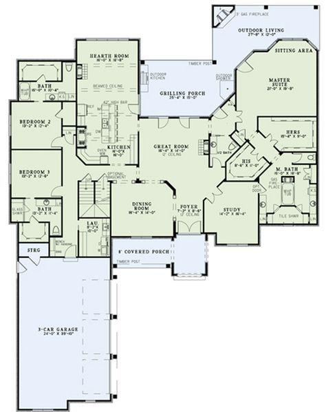 House Plan 110 00894 Luxury Plan 4 215 Square Feet House Plans And More Luxury House Plans Luxury Plan