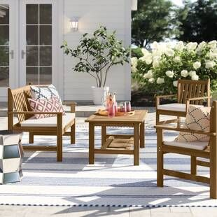 Outdoor Furniture Sale Joss Main Outdoor Sofa Sets Outdoor