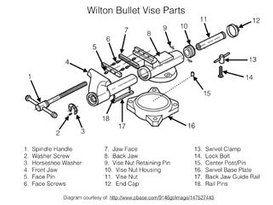 Wilton Vise Parts >> Restoration Of Wilton Bullet Vise Vises Vise Parts Wilton Vise