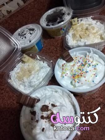 طريقة الايس كريم المنزلي طريقة عمل الايس كريم بالشوكولاته ﻃﺮﻳﻘﺔ ﻋﻤﻞ ﺍﻻﻳﺲ ﻛﺮﻳﻢ ﺑﺎﻟﺼﻮﺭ Food Desserts Breakfast