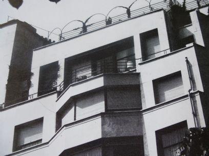 architecte  Michel Roux-Spitz - immeuble du0027ateliers et magasin - exemple de maison moderne