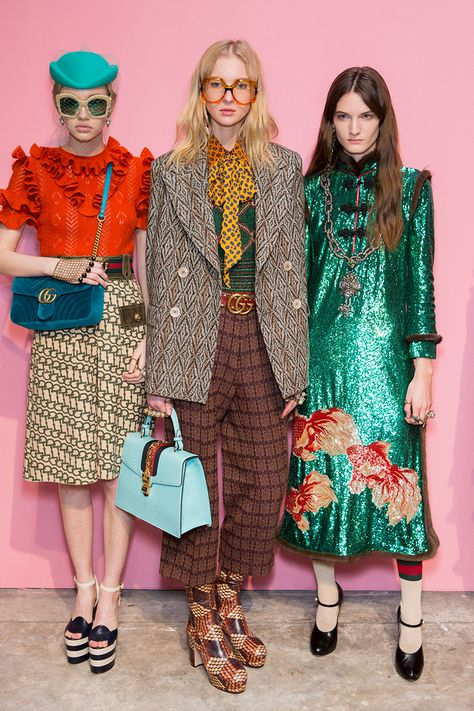 In case you haven't noticed, there's a revolution happening over at Gucci and the genius leading the rebellion is a man who strongly believes in emotion over rationality. Since he was appointed creative director nearly a year ago, Alessandro Michele has u