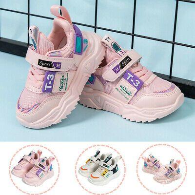 Children Kids Boys Girls Neutral Lightweight Outdoor Sports Shoes Casual Shoes