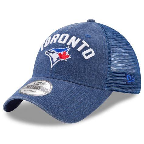 Men s Toronto Blue Jays New Era Royal Rugged Team 9TWENTY Snapback  Adjustable Hat 905675153