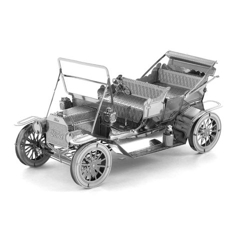 3d Metal Puzzle Kit Ford Model T 3d Metal Model 3d Model Education