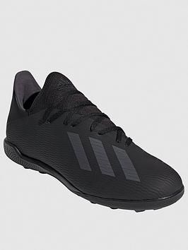 X 19.3 Astro Turf Football Boot - Black