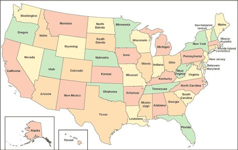 Pinterest Clear Map Of Usa on