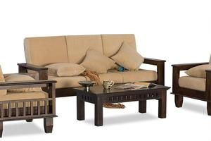 Solid Wood Jodhpur Sofa Set In 2020 Sofa Set Furniture Wooden
