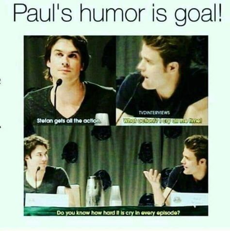 Give his credits..I mean a boy crying in every episode.Thats goals - # - Vampire diaries - #boy #creditsI #crying #diaries #episodeThats #give #goals #Vampire