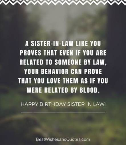 Quotes Birthday Sister In Laws 67 Ideas For 2019 Sister In Law Quotes Law Quotes Birthday Wishes For Sister