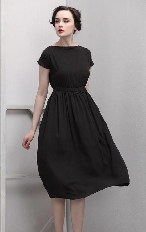 Perfect fit black dress.
