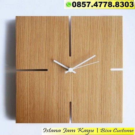 Jual Jam Dinding Foto Lukisan Jual Jam Dinding Foto Logo Jual Jam Dinding Foto Murah Wa 0857 4778 8303 Wall Clock Wooden Clock Decor Wood Wall Clock