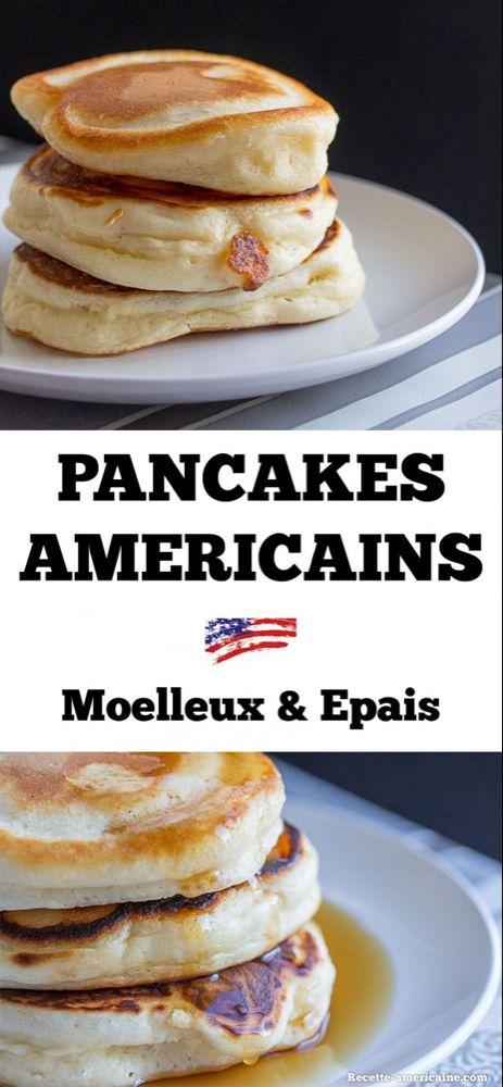 Recette de pancakes super épais et très moelleux - Recette Américaine