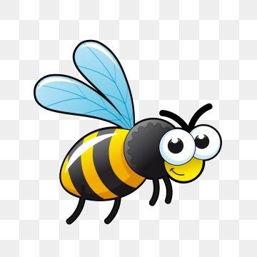Cartoon Cartoon Bee Bee Little Bee Png And Vector Cartoon Bee Bee Art Bee Pictures