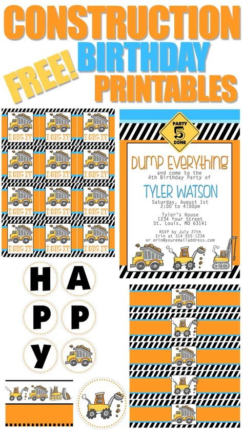 trendy birthday invitations free