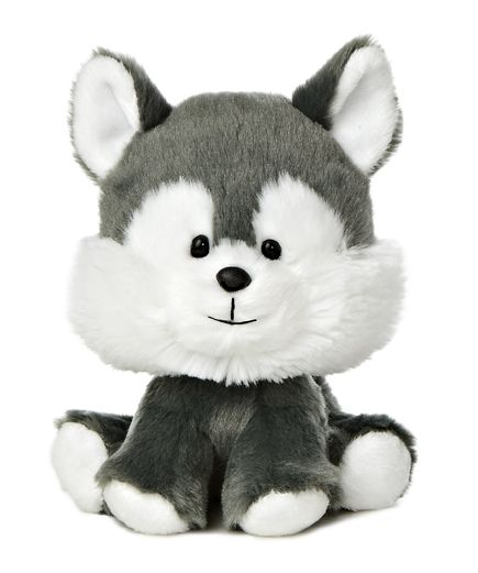 Our stuffed huskies and plush huskies are great for those three dog nights, you know, when its so cold that you need three dogs in bed with you to keep warm! My guess is that one husky stuffed animal will do the trick for most people but if you need three