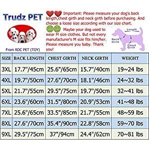 Dog Clothes Summer Tank Top Vest from S to 9X-Large for Small Dog Large Dog Medium Dog Rdc Pet Dog Shirts Trudz PET Adidog Dog T Shirt