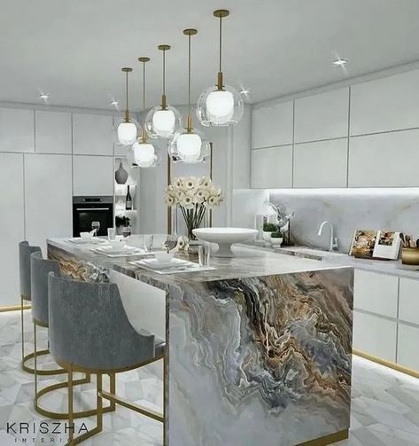 144 amazing modern kitchen design ideas you will love - page 11 ~ Modern House Design