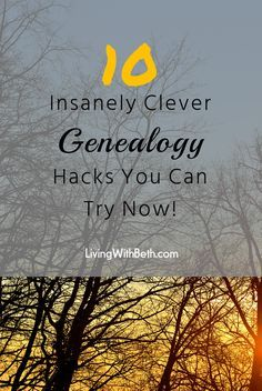10 Genius Genealogy Research Hacks You Can Try Now Whether you're just beginning genealogy research or you need some fresh insight to keep going, these 10 tips will kickstart the hunt for your ancestors! Genealogy Websites, Genealogy Humor, Family Genealogy, Free Genealogy, Genealogy Forms, Genealogy Organization, Diy Organisation, Genealogy Search, Free Ancestry Search