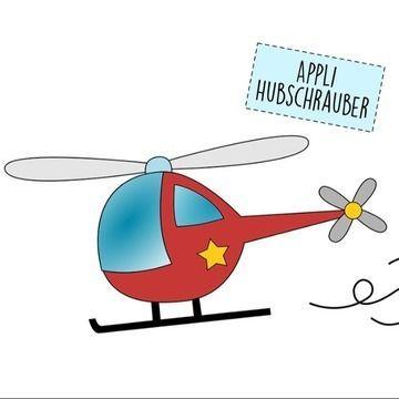 Applikationsvorlage Hubschrauber Applikation Vorlagen Hubschrauber Applikationsvorlage