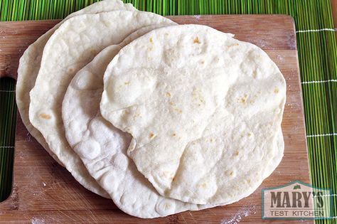 Video Tutorial For Quick And Easy Vegan Flour Tortillas Mary S Test Kitchen Recipe Easy Vegan Quick Easy Vegan Yeast Free Breads