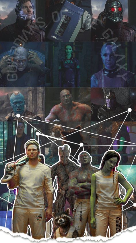 Guardians Of The Galaxy   by @kasibele