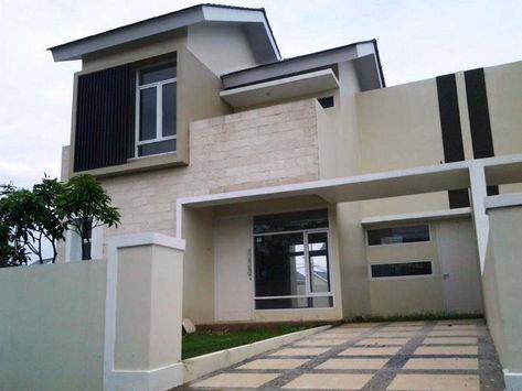 56+ desain rumah mewah 1 lantai & lantai modern minimalis