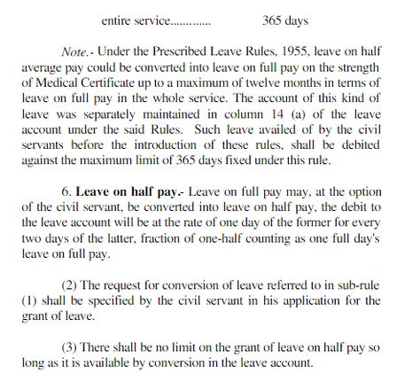 We are now sharing earned Leave Rules for all Government Employees - youth allowance form