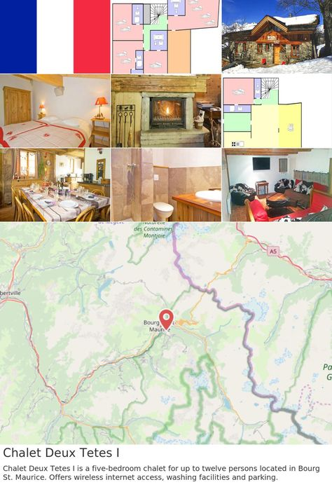 europe #france #arc Chalet Deux Tetes I Chalet Deux Tetes I is a