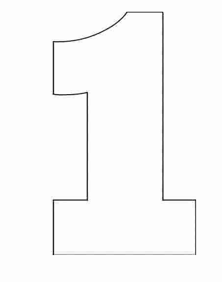 Number One Coloring Page Lovely Printable Number 1 Coloring Sheet One Apple Coloring Page Birthday Coloring Pages Number Stencils Apple Coloring Pages