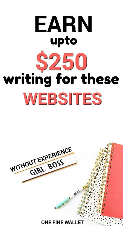 20 Websites to Write and get Paid Instantly (upto $200 each) - One Fine Wallet