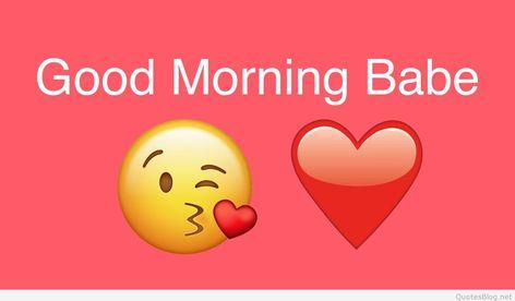 Good Morning Babe wallpaper