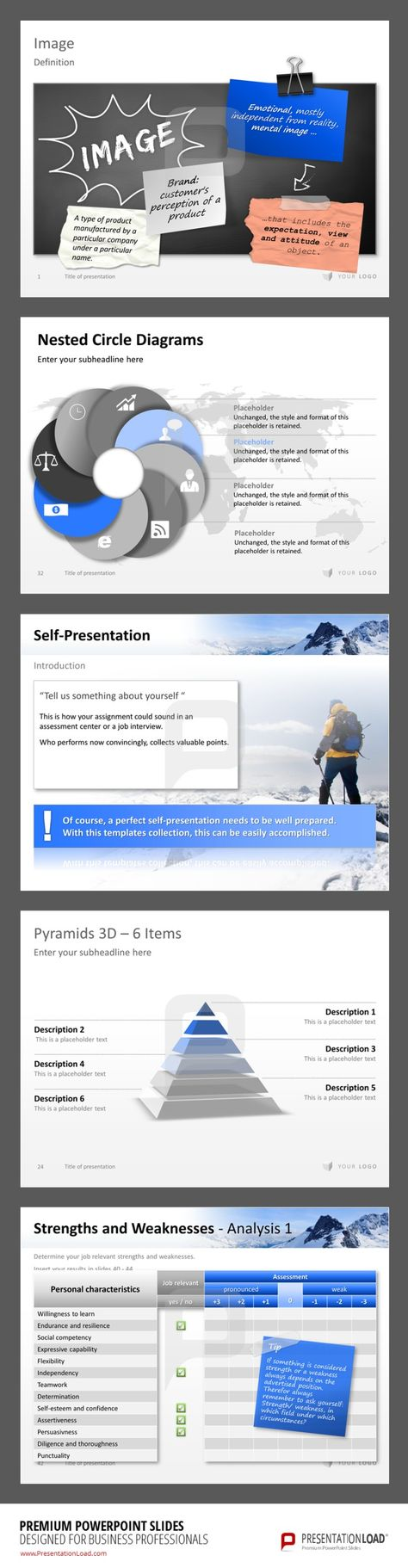 Professional Powerpoint Template Premium Powerpoint Slides For