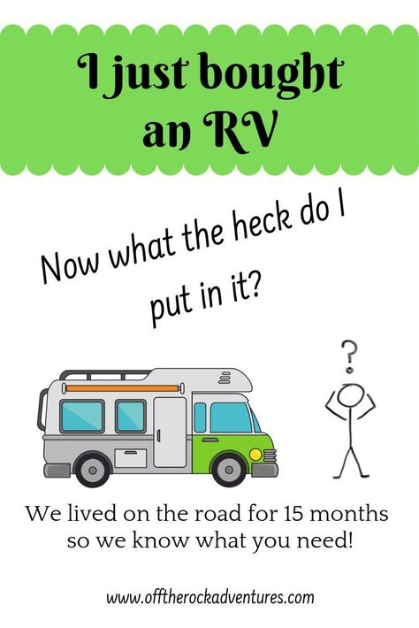 Accessories for your RV