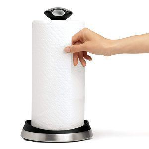 Top 10 Best Paper Towel Holders In 2020 Guides And Reviews Kitchen Roll Brushed Steel Kitchen Paper Towel Holder