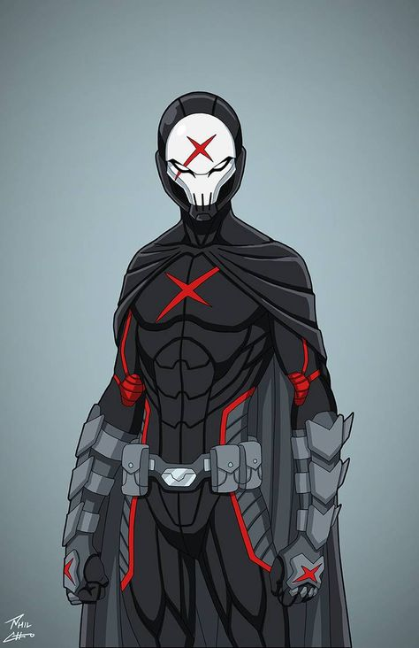 """""""Red X"""" produced thanks to contributions from the fans of Roysovitch's project. Character belongs to DC Comics. FB page for Red X commission Dc Comics Characters, Dc Comics Art, Marvel Dc Comics, Anime Characters, Fantasy Character Design, Character Design Inspiration, Batman Art, Marvel Art, Gotham"""