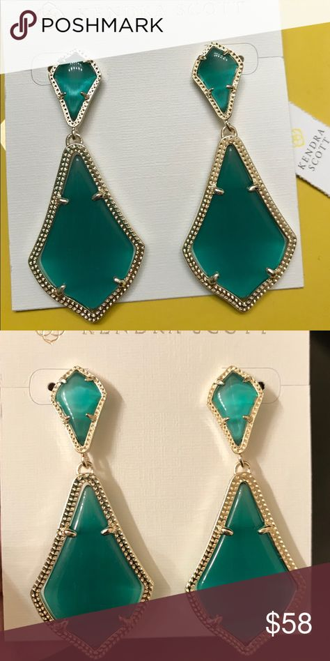 76f3c64ba2340 Kendra Scott Taylor Studs in Gold and Pyrite Authentic customized ...